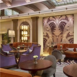 The Palm Court Lounge at Sheraton Grand London Park Lane
