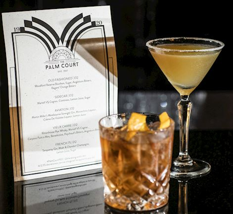 The Palm Court 19:20 Drinks