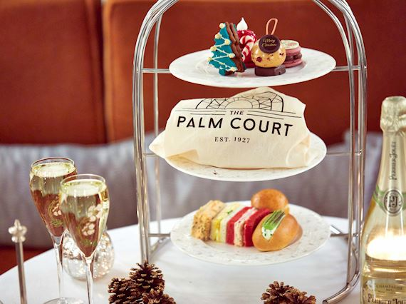 Christmas Afternoon Tea Menu - The Palm Court