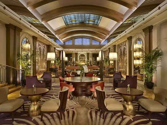 The Palm Court Afternoon Tea
