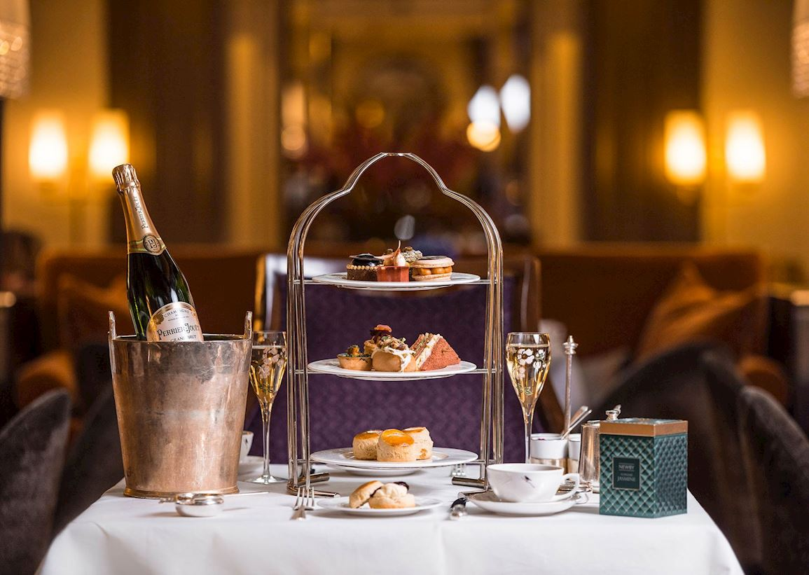 Afternoon Tea in Mayfair - The Palm Court