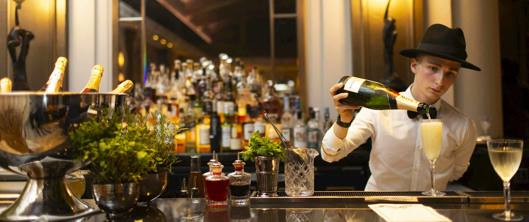 The Palm Court Drinks