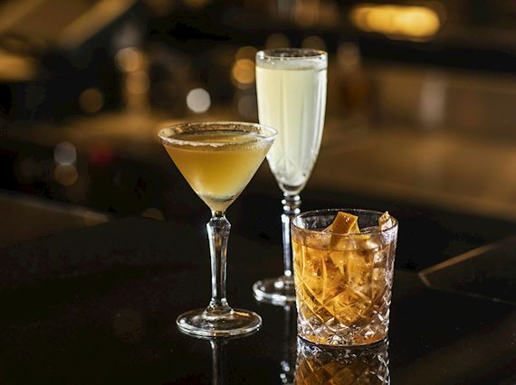 19:20 at The Palm Court - Drinks Menu