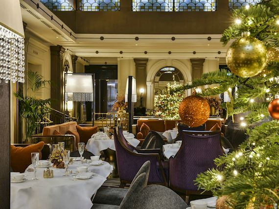 Festive Afternoon Tea in London
